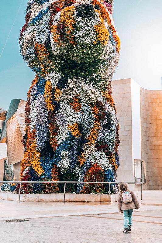 Bilbao with kids, Guggenheim Museum