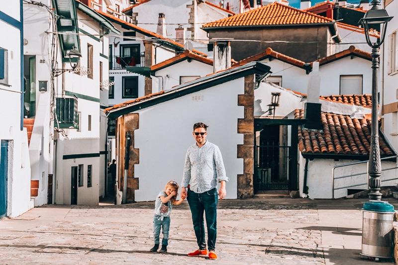 Algorta with kids