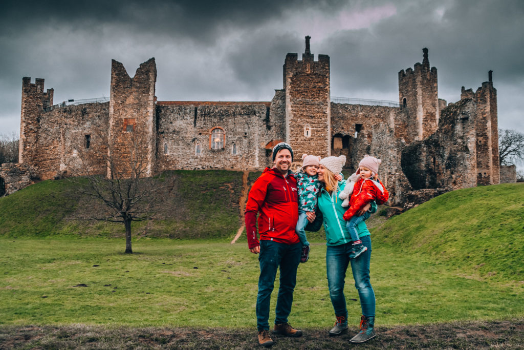 suffolk, framlingham castle, travel with kids