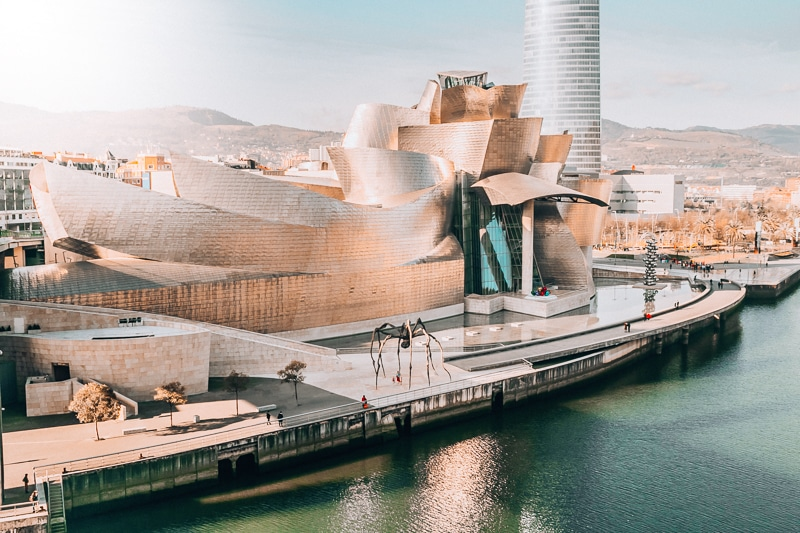 Bilbao with kids, Guggenheim Museum