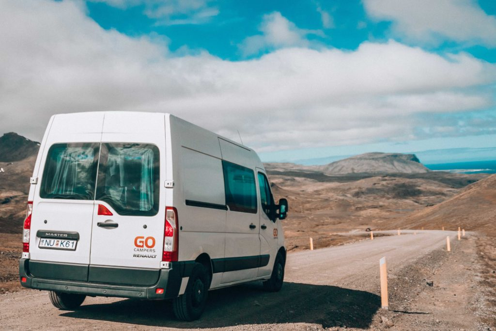 Iceland in campervan