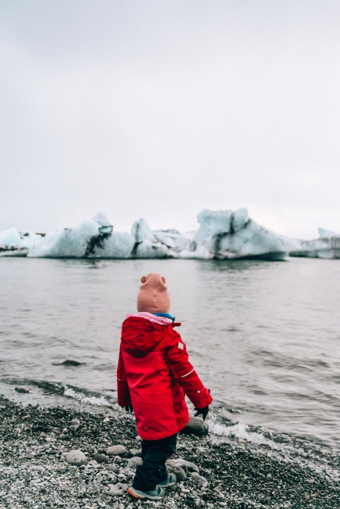 JOKULSARLON  with kids