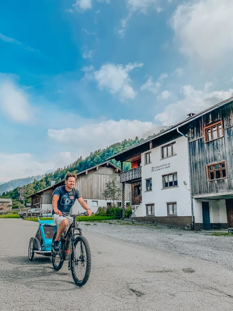 cycling in Bregenzerwald