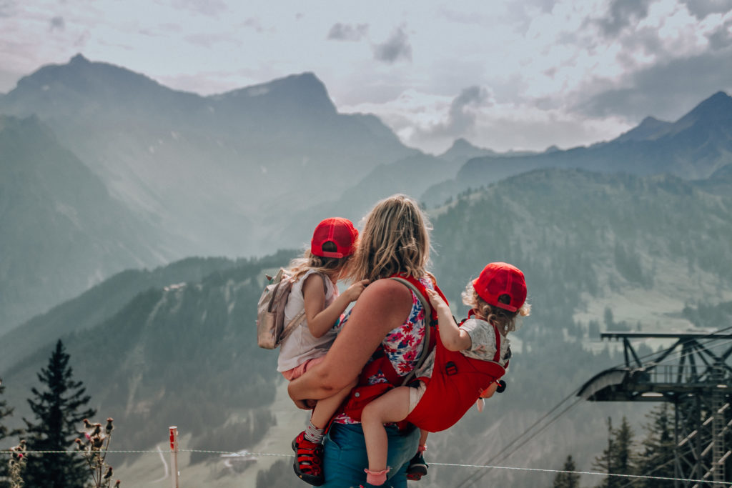 Brandnertal with kids