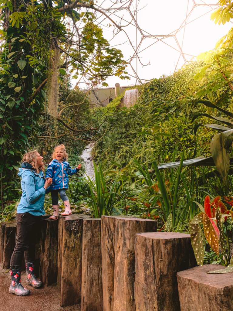 eden project with toddlers