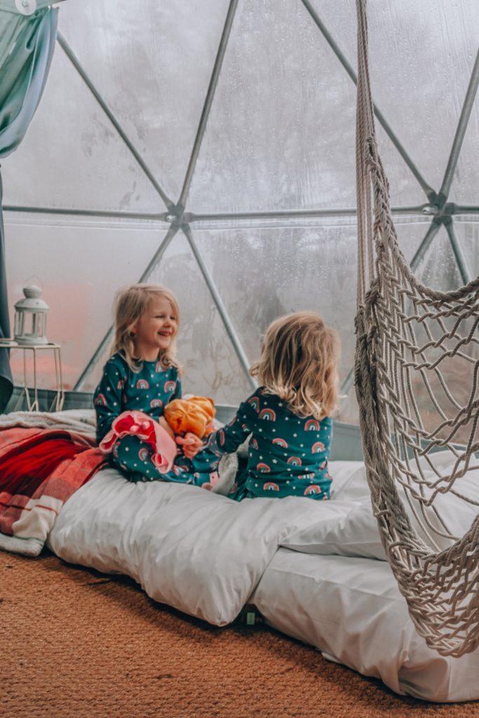 family glamping UK
