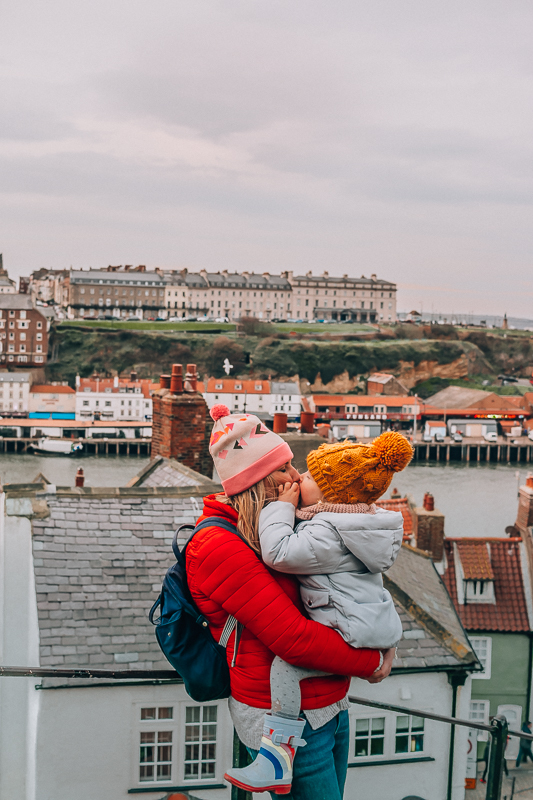 Whitby with kids