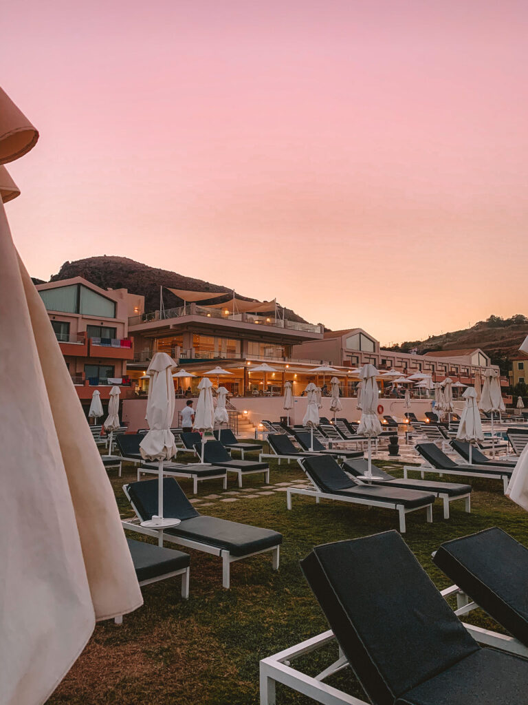 Kiani Beach Resort during pandemic
