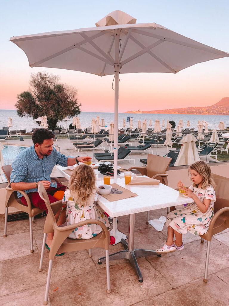 Kiani Beach Resort Restaurant